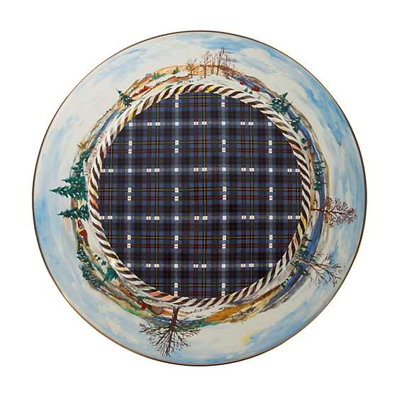 Highbanks Pedestal Platter - Large image three