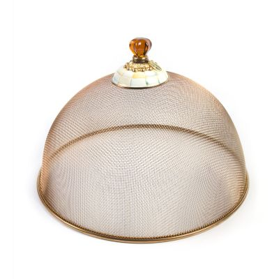 Parchment Check Mesh Dome - Large