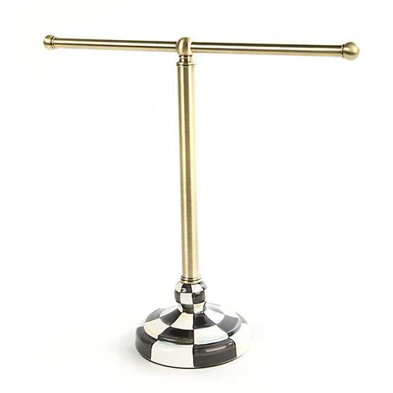 towel stand. Courtly Check Tea Towel Stand Towel Stand