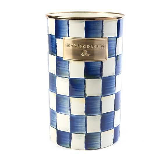Royal Check Utensil Holder image one