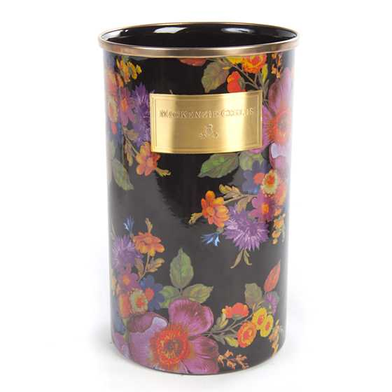 Flower Market Utensil Holder - Black image one
