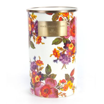 Flower Market Utensil Holder - White
