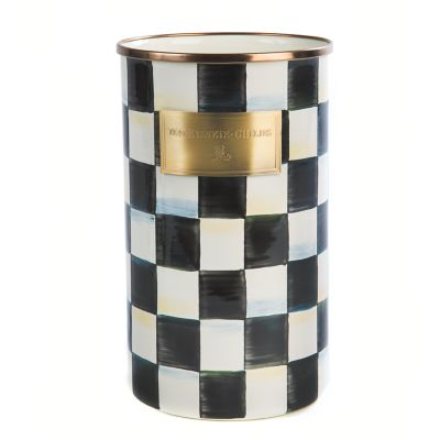 Image for Courtly Check Enamel Utensil Holder