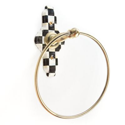 Courtly Check Towel Ring
