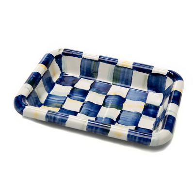 Image for Royal Check Enamel Simply Soap Dish