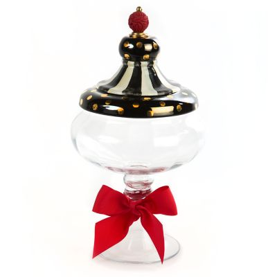 Black Tie Apothecary Jar - Medium