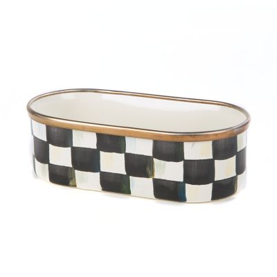 Courtly Check Enamel Mini Tub