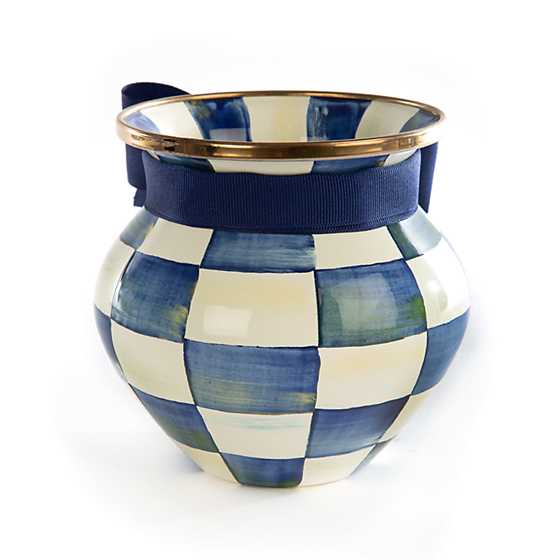 Royal Check Vase image three