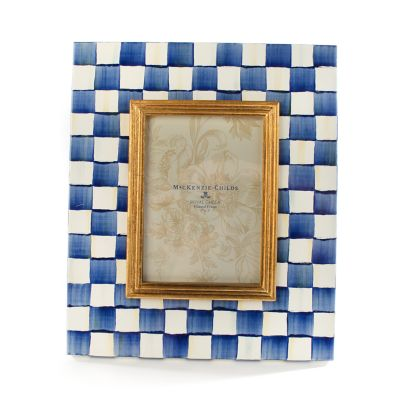 "Image for Royal Check Enamel Frame - 5"" x 7"""