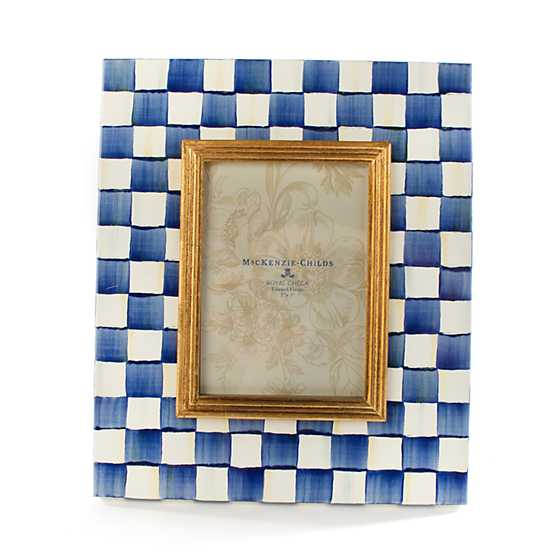 "Royal Check Frame - 5"" x 7"""