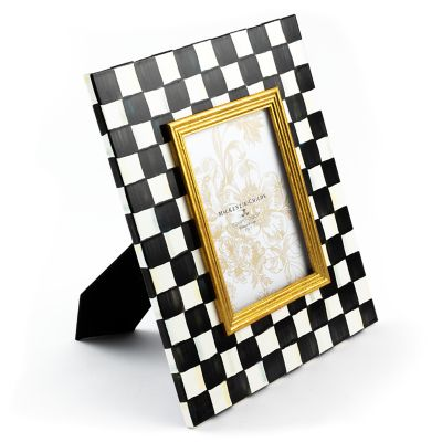 "Image for Courtly Check Enamel Frame - 5"" x 7"""