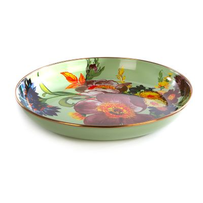 Flower Market Abundant Bowl - Green
