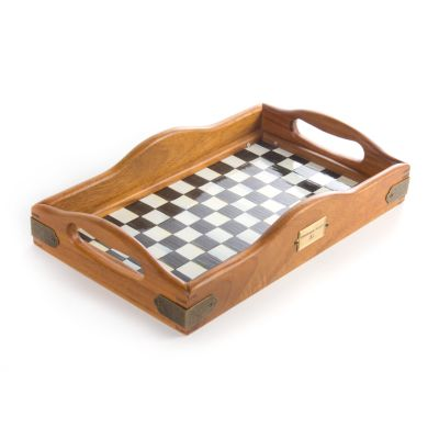 Courtly Check Hostess Tray - Small