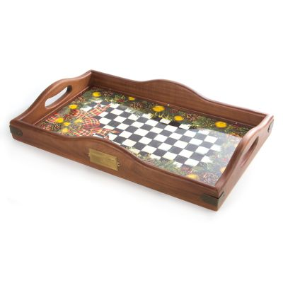 Evergreen Hostess Tray - Large