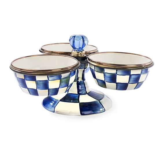 Royal Check Enamel Triplicity