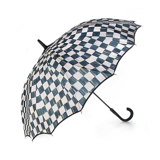 Courtly Check Seamless Umbrella