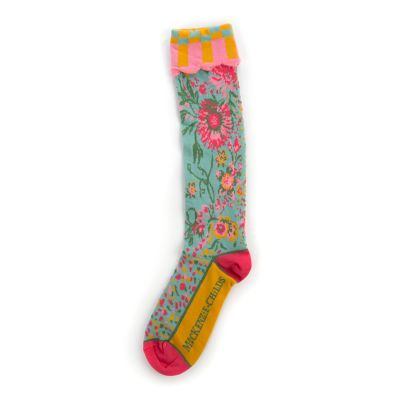 Alice's Garden Knee Socks