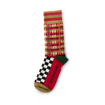Red Tartan Men's Socks