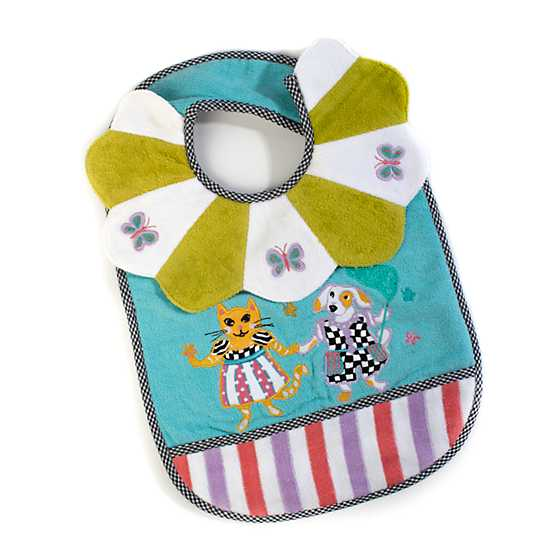 Toddler's Bib - Bow Wow Meow