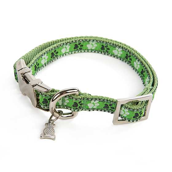 Mackenzie Childs Bow Wow Pet Collar Extra Small