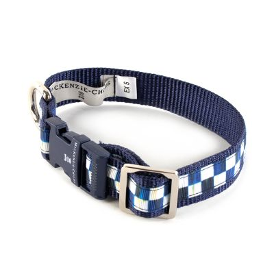 Royal Check Pet Collar - Extra Small