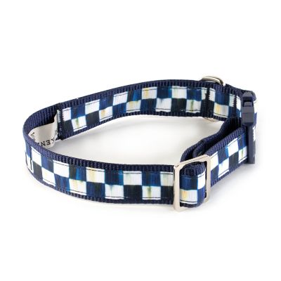 Royal Check Pet Collar - Medium