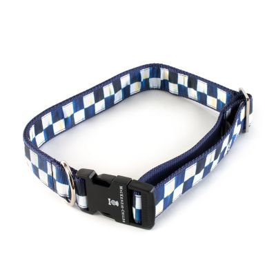 Royal Check Pet Collar - Extra Large