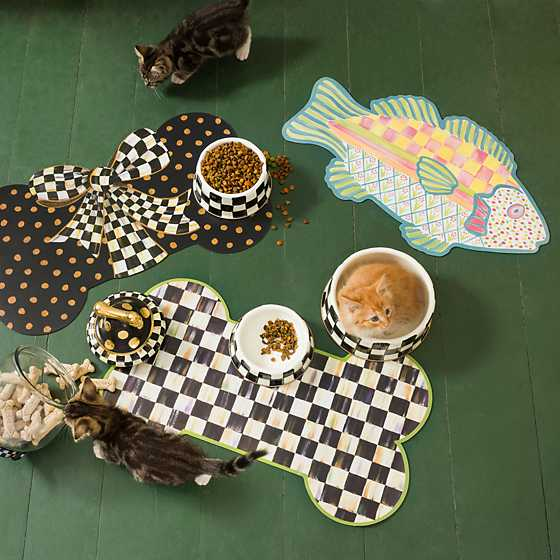 Freckle Fish Pet Placemat image two
