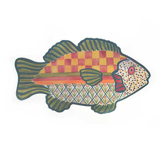 Freckle Fish Pet Placemat