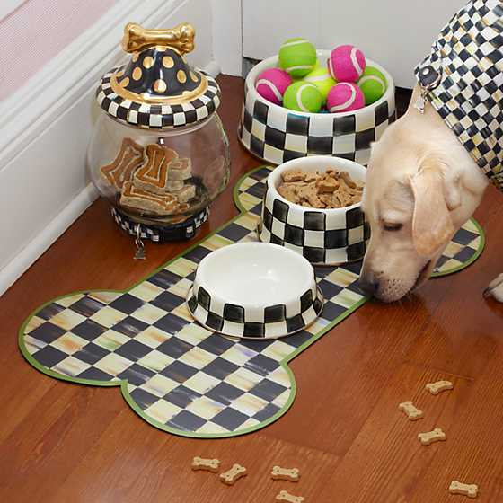 Courtly Check Pup Placemat image four