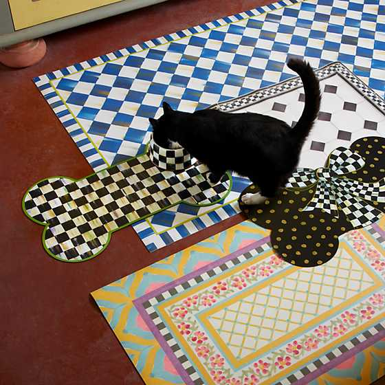 Courtly Check Pup Placemat image five