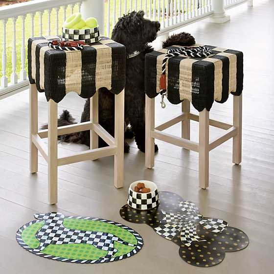 Courtly Check Pup Placemat image six