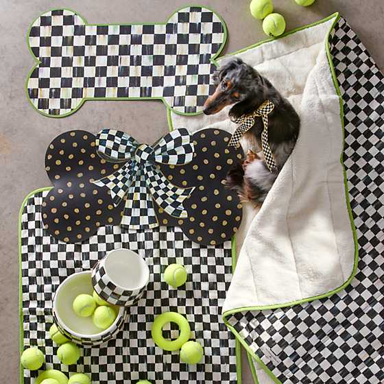 Courtly Check Pup Placemat image eight