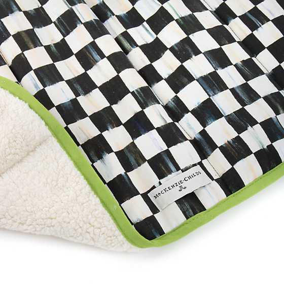 Courtly Check Dog Blanket - Small image three