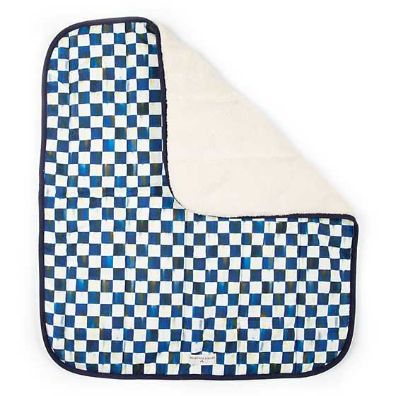 Royal Check Pet Blanket - Small image four