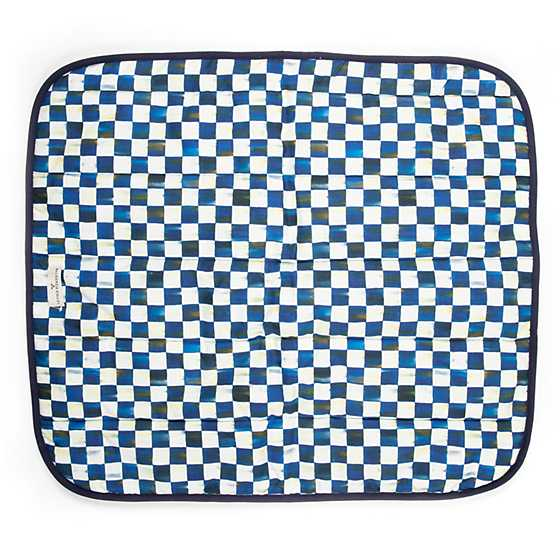 Royal Check Pet Blanket - Small image one