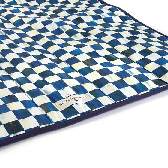 Royal Check Pet Blanket - Large image four