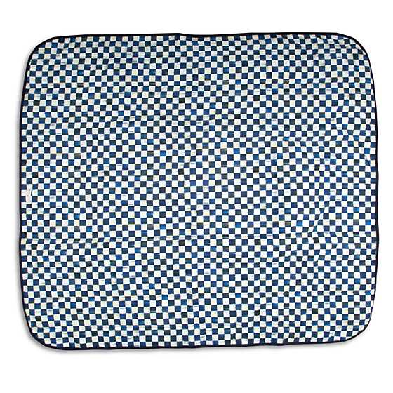 Royal Check Pet Blanket - Large image one
