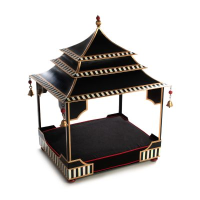 Courtly Pagoda Pet Bed