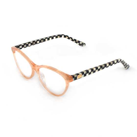 Rose Gold Leno Readers - x2.5 image two