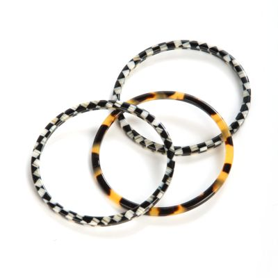 Courtly Liaison Skinny Bangles - Set of 3