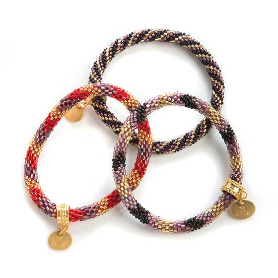 create purl jewellery bracelets woven soho beaded