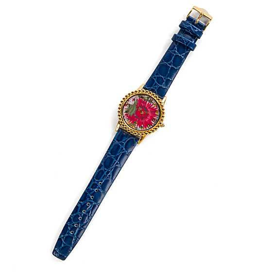 Florabundance Watch - Teal image one