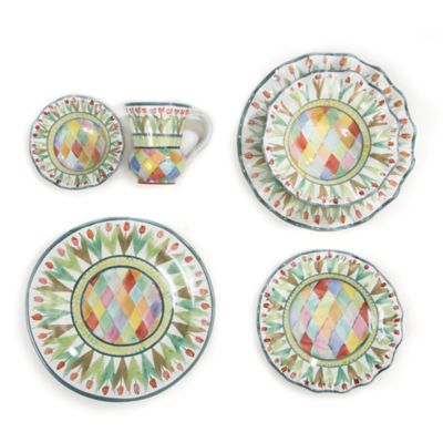 Poplar Ridge Taylor Dinnerware  sc 1 st  MacKenzie-Childs & MacKenzie-Childs   Dinnerware   Tabletop