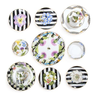 Thistle u0026 Bee Dinnerware  sc 1 st  MacKenzie-Childs & MacKenzie-Childs | Dinnerware | Tabletop