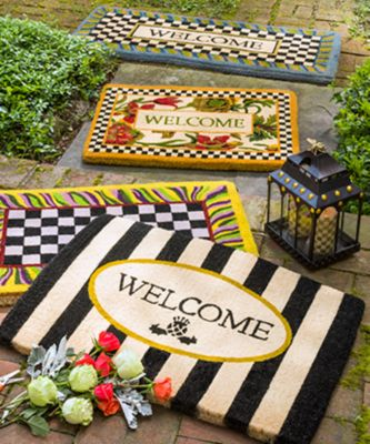 Flower Market Double Door Entrance Mat Set Image 1