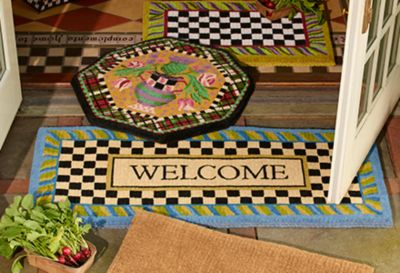 Flower Market Double Door Entrance Mat Set Image 2