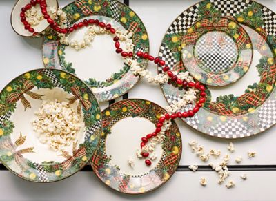 Evergreen Enamel Charger/Plate Set Image 0