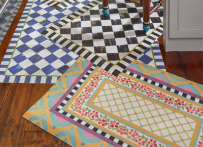 Royal Check Floor Mat - 3' x 5' Set Image 0