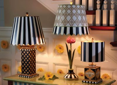Courtly Stripe Shade - Chandelier Set Image 0